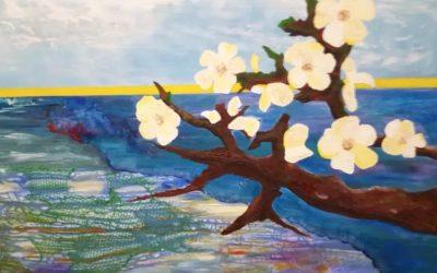'Jij mag zijn zoals je bent' – schilderijen van Saskia Versaan